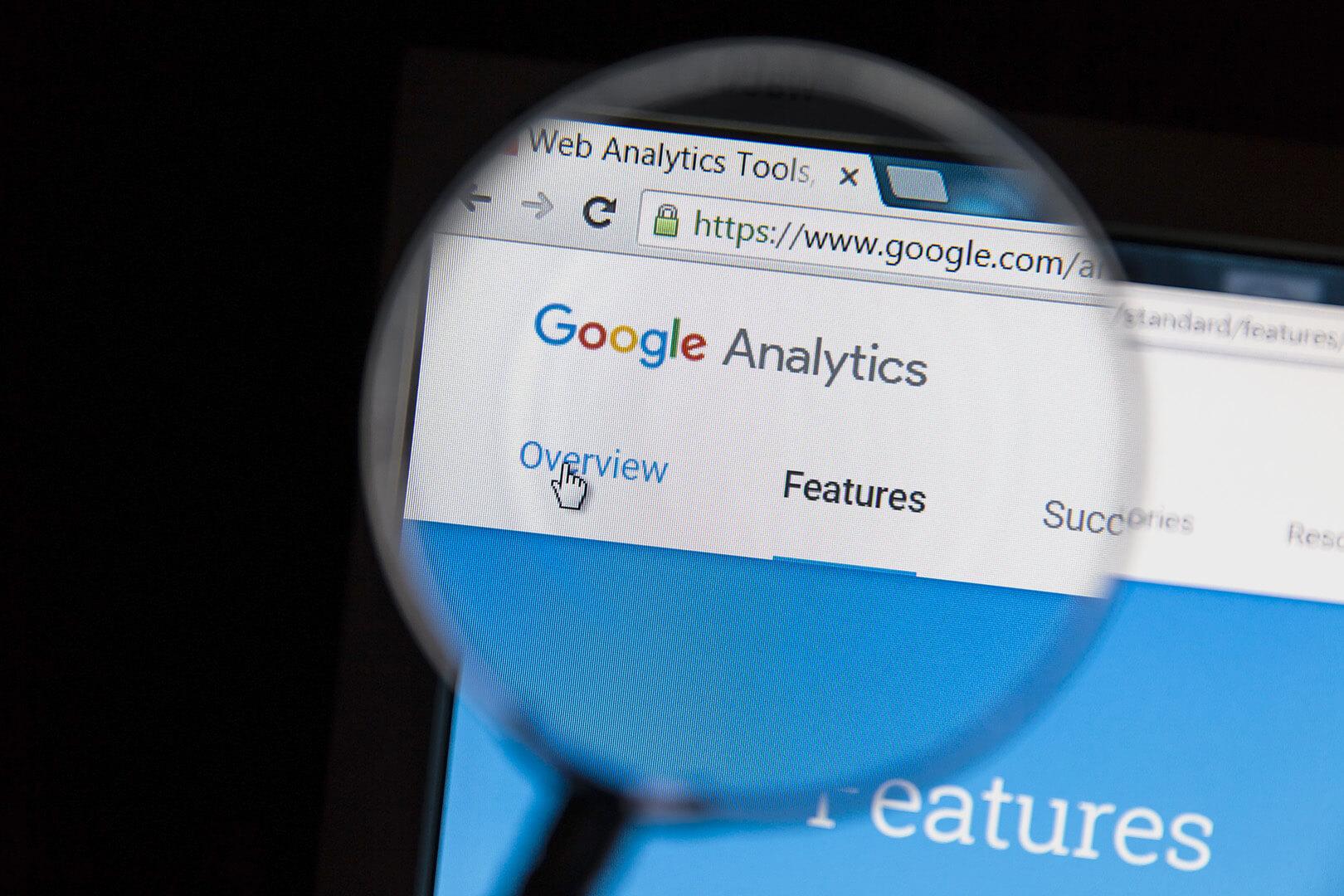 Search Engine Optimization - Google analytics